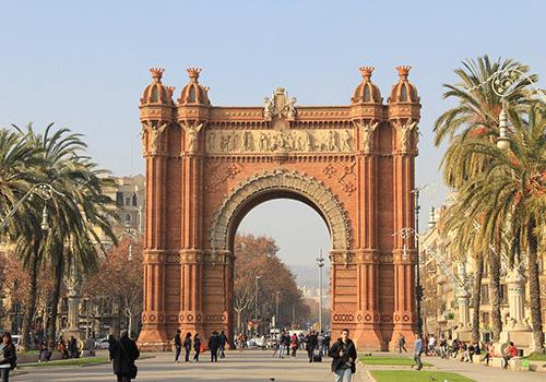 Arch-Triumph-Barcelona