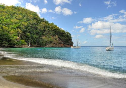 Beach-on-St-Lucia.