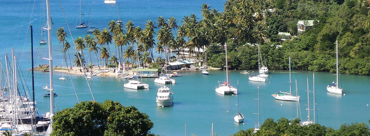 St-Lucia-boats