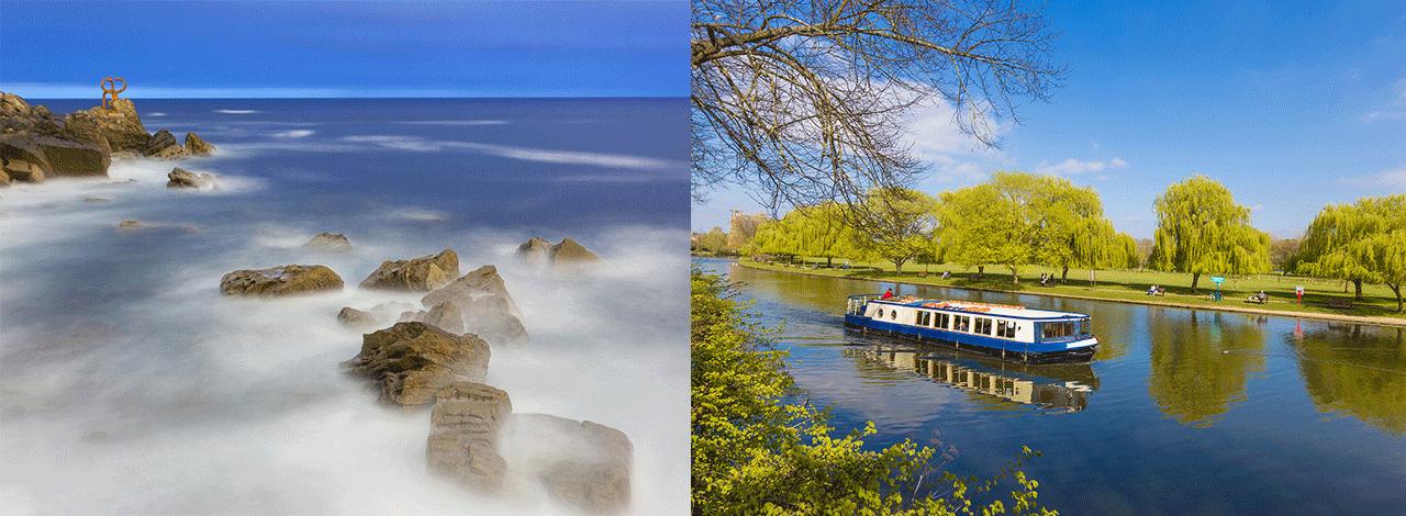Ocean-versus-River