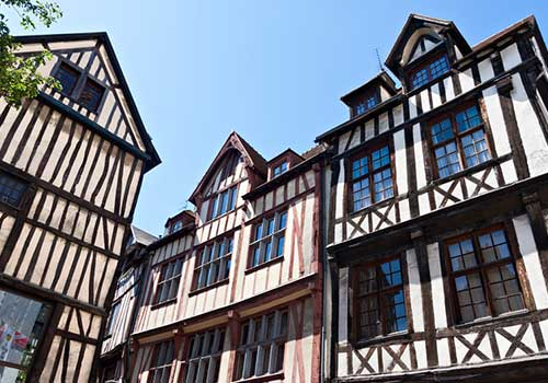 Normandy - Half Timbered Buildings