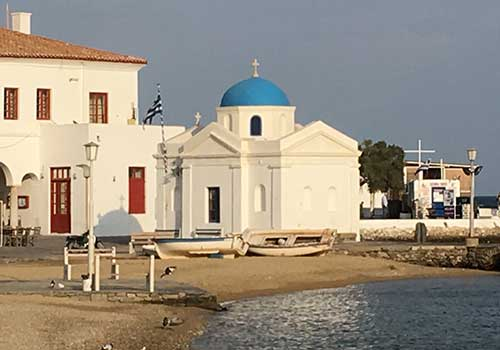 Mykonos-harbor