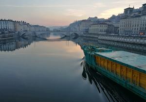 Lyon before dawn