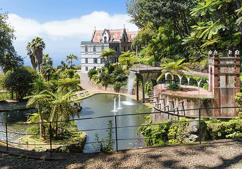 Atlantic-Island-Archipelagos-Funchal-Gardens