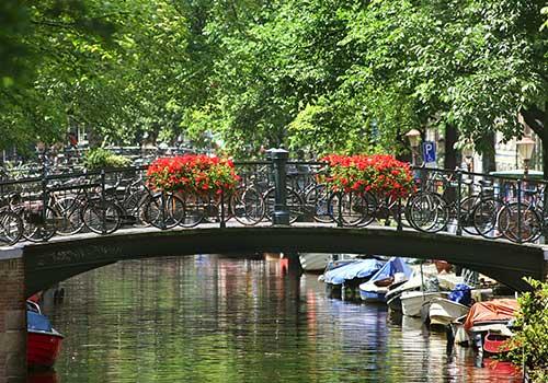 Amsterdam-canals-bridge