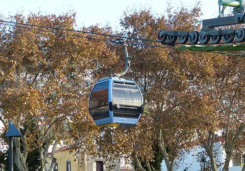 Cable car Funchal Madeira