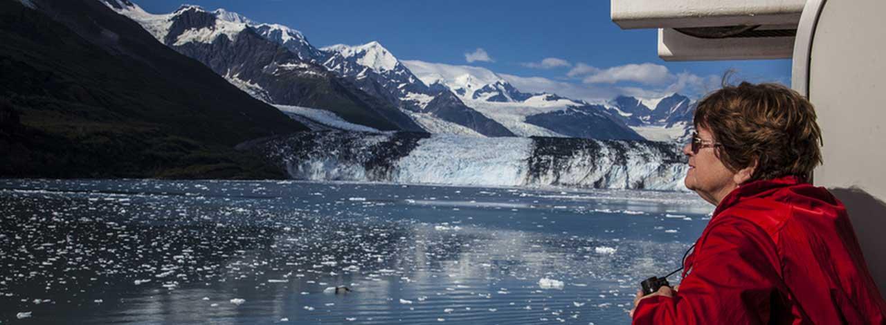 Alaska Cruise Tourist