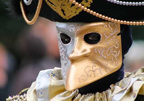 Carnival Venice Bauta Masks