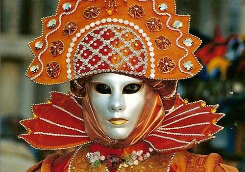 Carnival Venice Elaborate Costumes