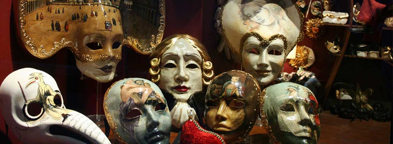 carnival in Venice - Masks
