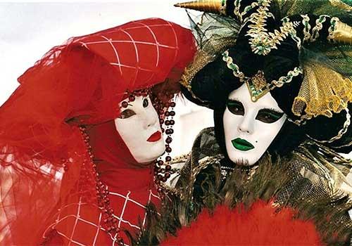 Carnival Venice Volta Masks