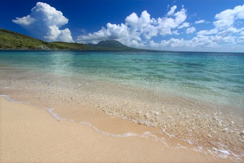 St. Kitts Unspoiled beach