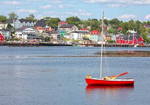 Lunenburg near Halifax
