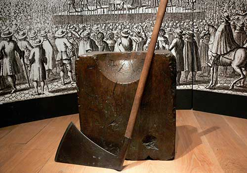Tower of London - Tower axe