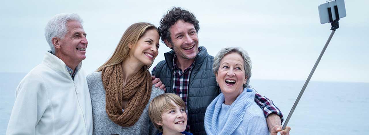 Family Travel header