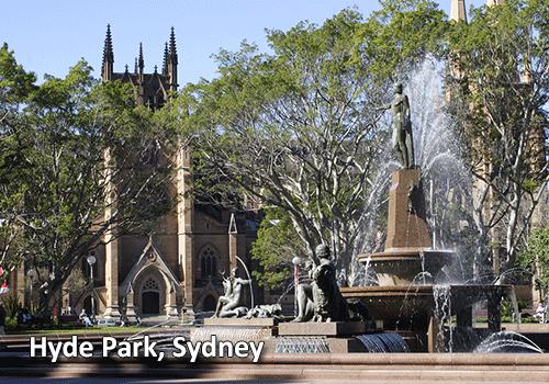 Sydney, Hyde Park