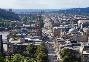 Aerial-View-of-Edinburgh