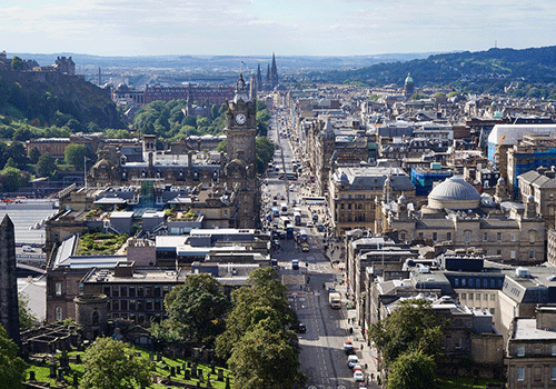 Aerial-View-of-Edinburgh