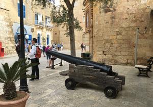 Cannon, Mdina