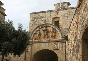 Gate carvings, Mdina