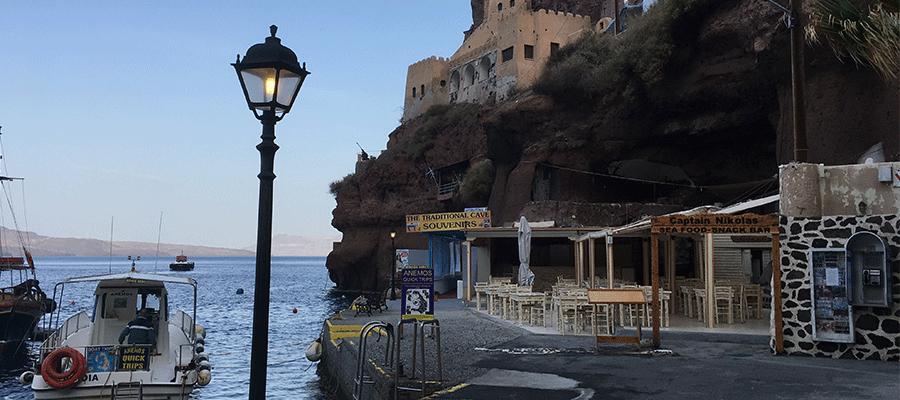 Santorini-Evening