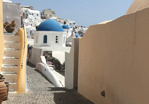 Santorini-Oia-street