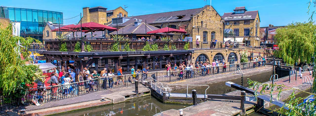 World-famous Markets - Camden Town Locks