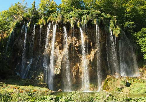 Plitvice-Lakes-Waterfalls