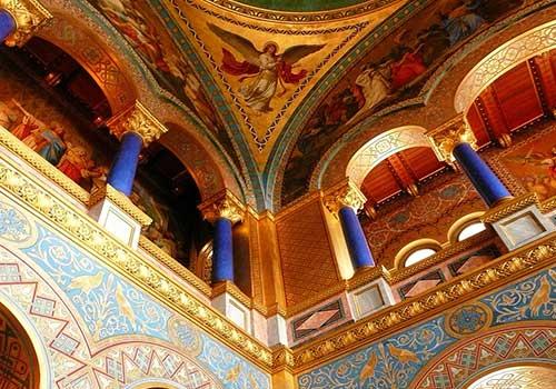 Romantic-Castles-neuschwanstein-ceiling