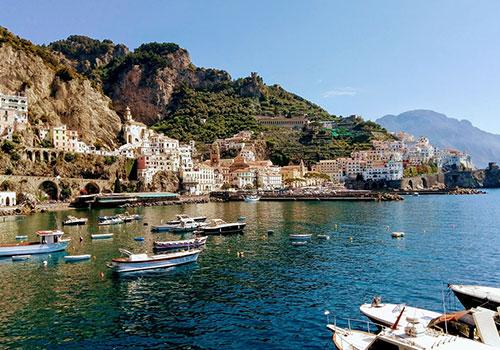 Amalfi-Coast-town