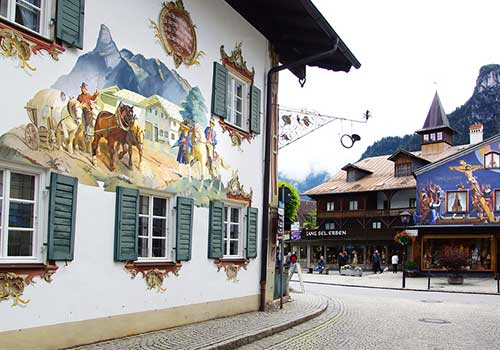 Oberammergau-painted-houses