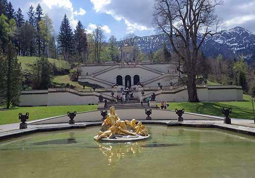 Oberammergau-Linderhof-gardens