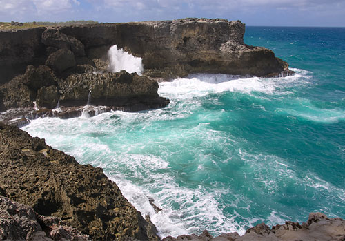 Barbados - Windy, wild Atlantic coast