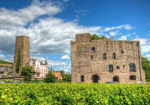 Middle Rhine castles - Bromserburg & Boosenberg