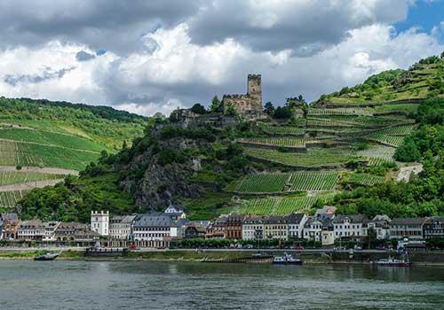 Middle-Rhine-Castle-Gutenfels-Castle