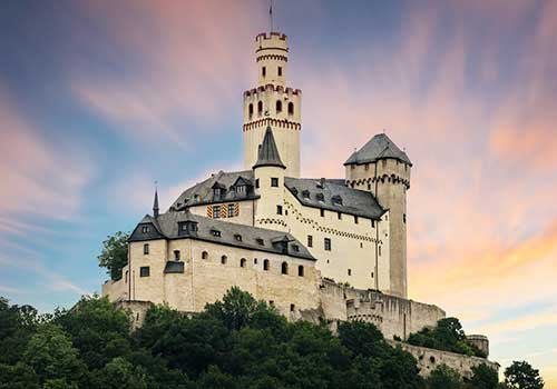 Middle-Rhine-Castle-Marksburg-Castle
