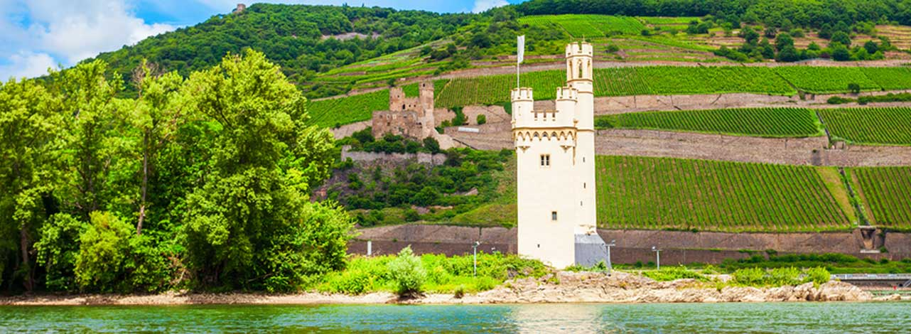 Middle Rhine Castles - Mouse Tower
