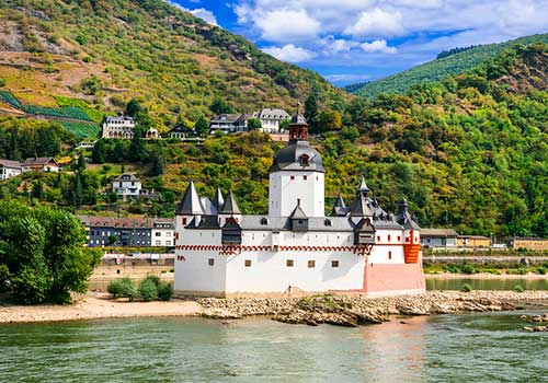 Middle-Rhine-Castle-Pfalzgrafenstein-Castle