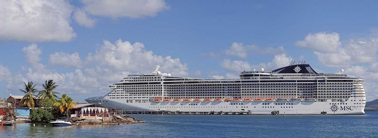 Martinique Cruise Ship