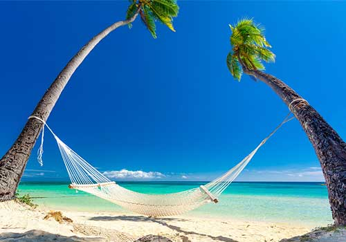 Fiji Visit Relax in hammock