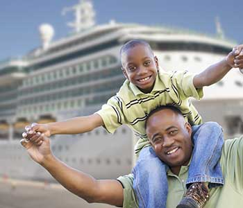 Travel professional - family cruise image