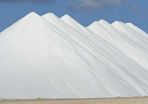 ABC Islands - Salt Mounds in Bonaire