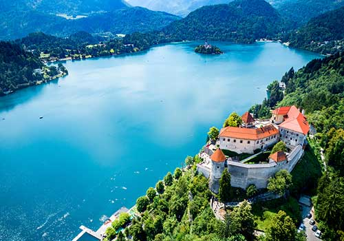 Lake Bled - Bled Castle