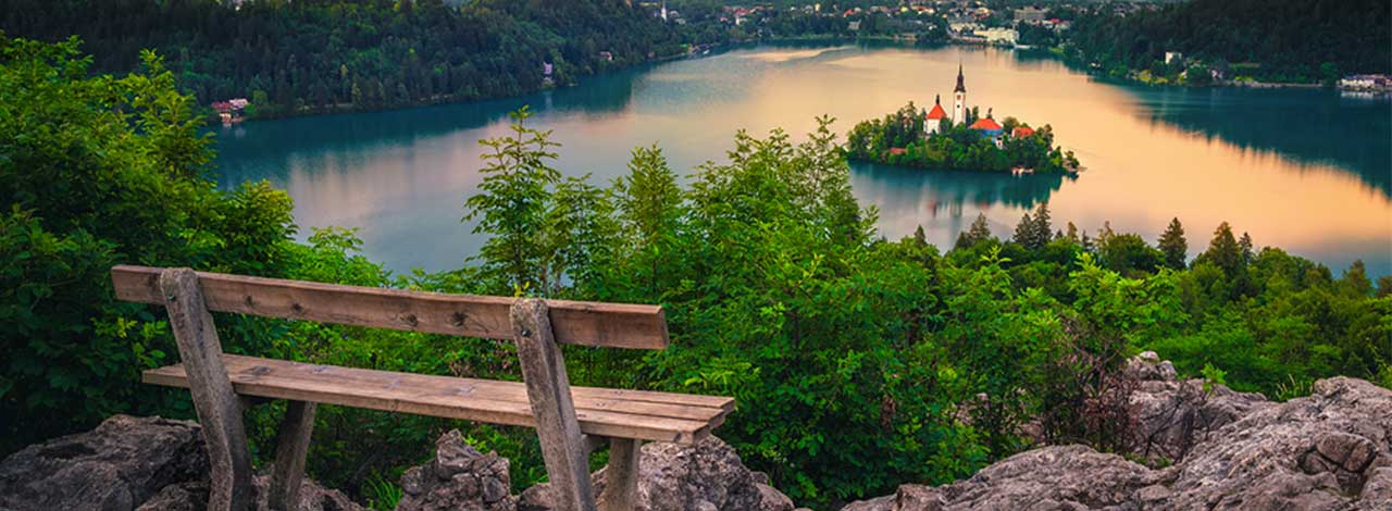 Lake Bled - Restful Spot over the Lake