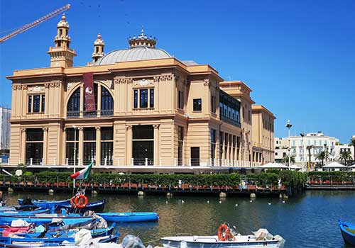 Puglia Bari Harbor