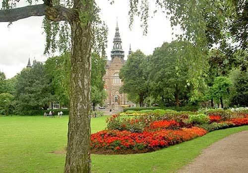 Stockholm,-Sweden-Gardens-Nordiska-Museet