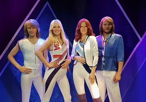 Stockholm, Sweden - ABBA wax figures