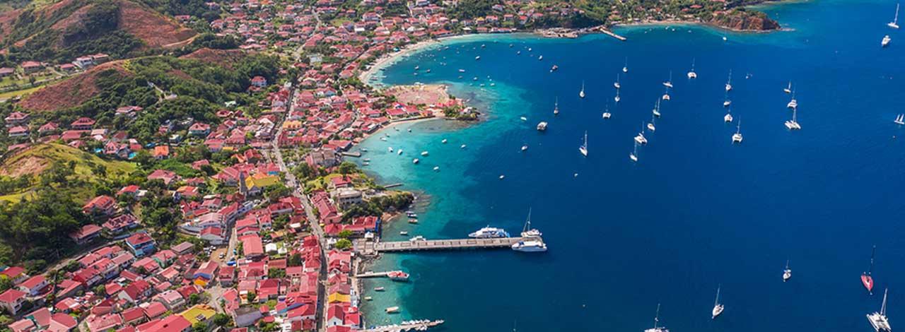 Guadeloupe islands Caribbean - Iles des Saintes