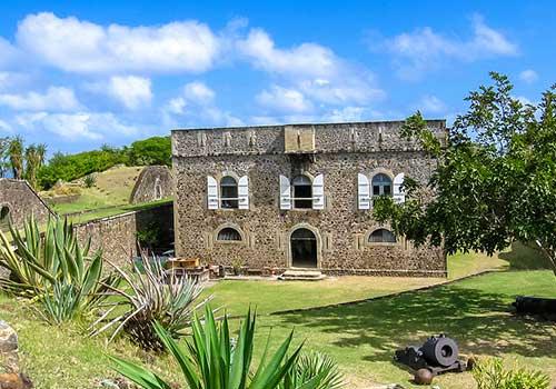 Guadeloupe Islands Caribbean - Fort Napoleon