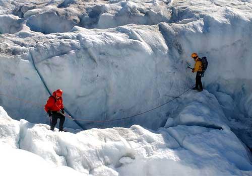 Greenland-Ice Climbing